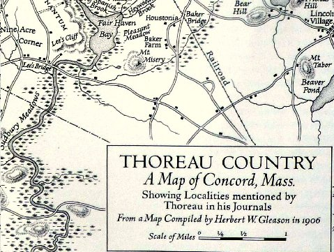 Thoreau map